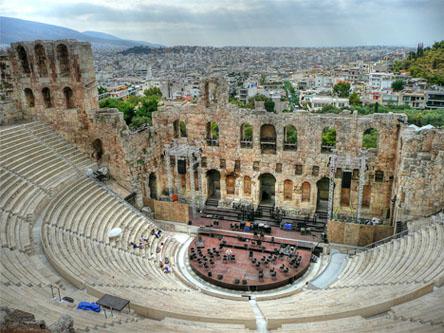 Vuelos Atenas: Odeon de Herodes