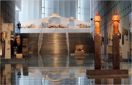Museos de Atenas: Nuevo Museo de la Acrópolis en Atenas.