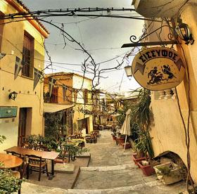 Vuelos Atenas: Plaza y cafes de Atenas